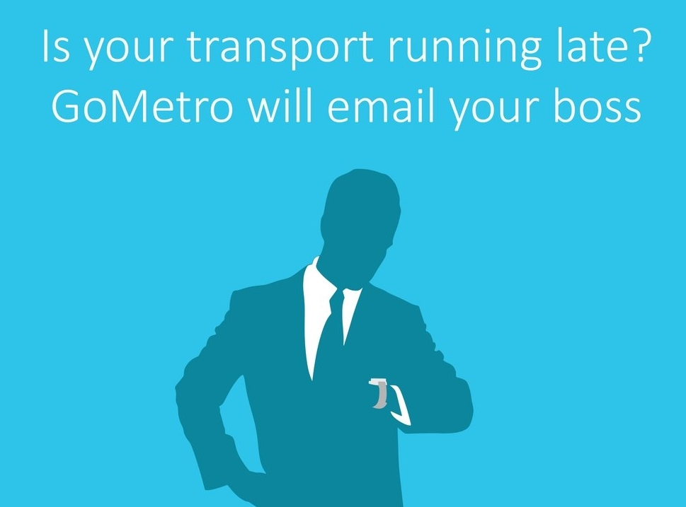 GoMetro's Email Your Boss feature